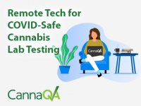 Remote Tech for COVID-Safe Cannabis Lab Testing
